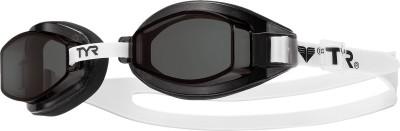 TYR Team Sprint Swimming Goggles(Black)