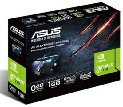 Asus NVIDIA Geforce GT 710 2 GB DDR3 Graphics Card(Black)