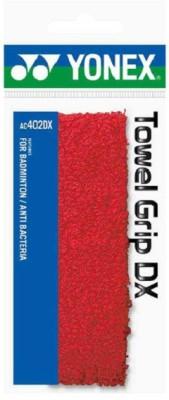 Yonex AC 402 Towel  Grip(Red, Pack of 1)