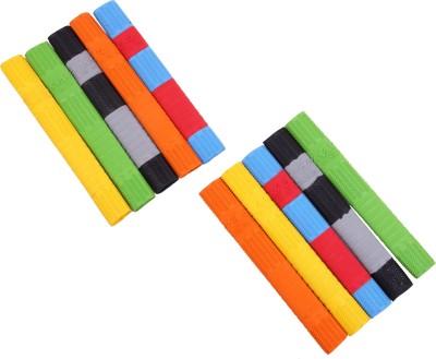 Mayor HEXTEC 1000 Ergonomic Multicolor, Pack of 10 Mayor Cricket Grips