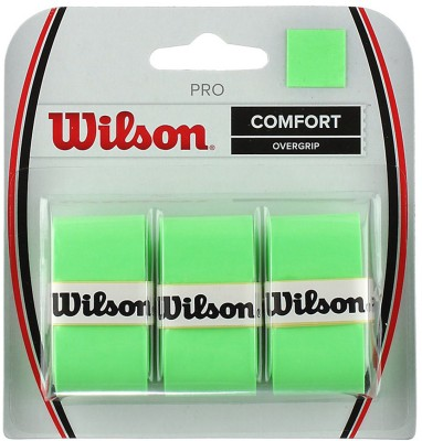 Wilson Pro Super Tacky  Grip(Green, Pack of 3)