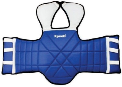 Xpeed MMA / Taekwondo Protector Chest Guard(L, Blue, White)