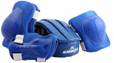 KAMACHI XS SPORTS PROTECTOR CYCLING SKATING KIT PROTECTIVE KNEE ,ELBOW ,WRIST GUARD,HELMET(MEDIUM)  available at flipkart for Rs.498