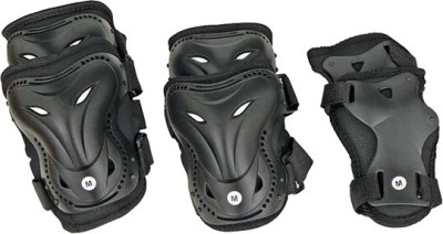 Nivia Skate Protectors Adjustable Knee & Elbow Guard(M, Multicolor) at flipkart
