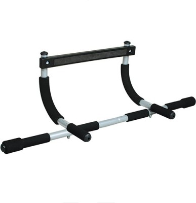 Gadget Bucket Iron Gym Door Dips Upperbody Workout Height Increaser Wall Steel Mount Muscles Builder Strecher Exerciser Pull-up Bar Pull-up Bar(Black)  available at flipkart for Rs.999