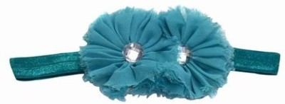 Pinkblueindia Beautiful Tow Flowers for Baby Girl Head Band(Green)