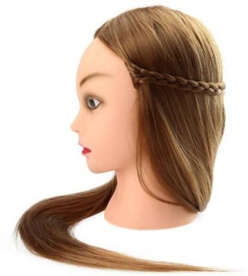 HRK HRK Hairy Dummy With Long Hair Hair Accessory Set(Brown) at flipkart