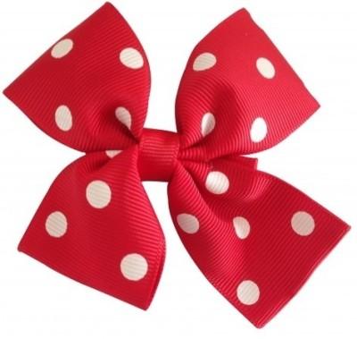 NeedyBee Flower Hair Clip(Red, White) Flipkart