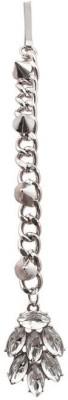 Crunchy Fashion Leaves Hair Chain(Silver)
