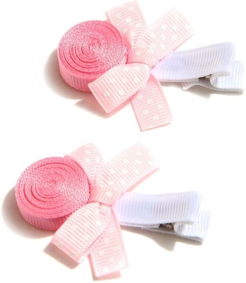 NeedyBee Girls Toddlers Loli-pop Party Wear Baby (Pack of 2) Hair Clip(Pink)