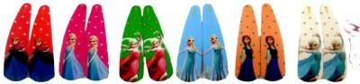 Vogue Frozen Collection Kids Girls Matt Finish Tic Tac Clip(Multicolor)