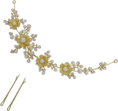 Vogue Wedding Tiara Hair Accessory Set(Gold)