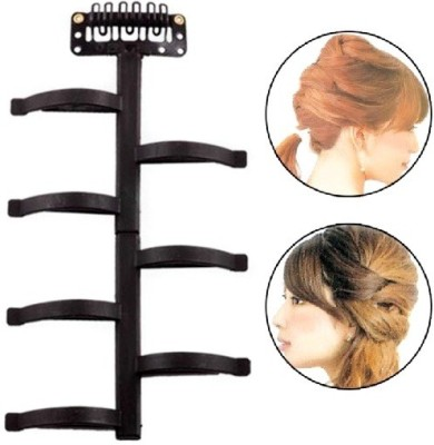Out Of Box 1 Pc Hair braider twist styling tool hair style device Hair Accessory Set(Black) at flipkart