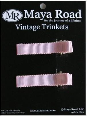 Maya Road Maya Road Pink Hair Clips, Pack of 2 Hair Clip(Multicolor)