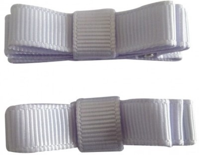 NeedyBee Double Deck (Pack of Two) Hair Clip(Light Purple) Flipkart