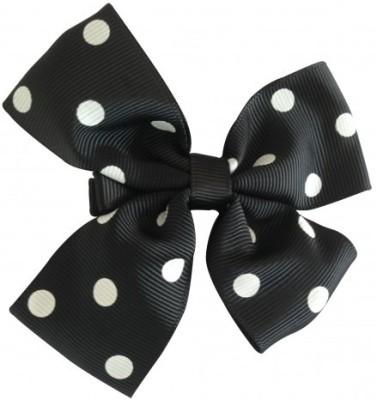 NeedyBee Flower Hair Clip(Black, White) Flipkart
