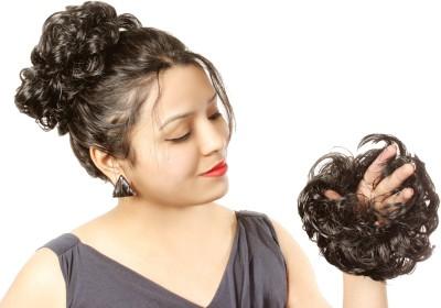 Ritzkart Hair Bun Rubber Elastic Flexi All Purpose Use Bun(Brown) at flipkart
