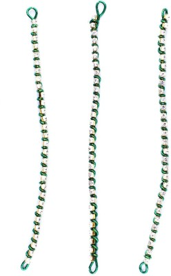 Majik Bun Decoration Hair Chain(Green)