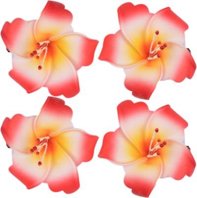Majik Flowers For Bun Making Hair Clip(Red) Flipkart