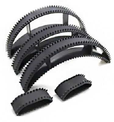 A Shreeparna Hair Bumpit Set of 5 Hair Accessory Set(Black)  available at flipkart for Rs.177