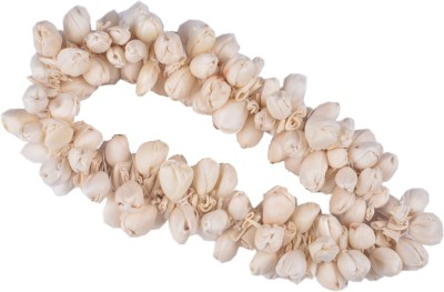 Majik Gajra Veni Garland Artifical Flowers Hair Band(White) Flipkart