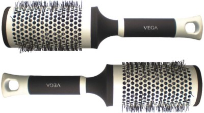 Vega Hot Curl Brush - Large H1 PRL (set of 2)  available at flipkart for Rs.1149