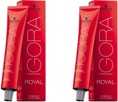 Schwarzkopf IGORA Royal Pack of 2 Hair Color(Dark Brown 3-0)