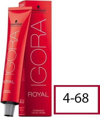 Schwarzkopf Igora Royal  Hair Color(4-68 Medium Brown Chocolate Red)