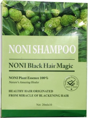 Ruchi World Noni Blackening Shampoo  Hair Color(black)