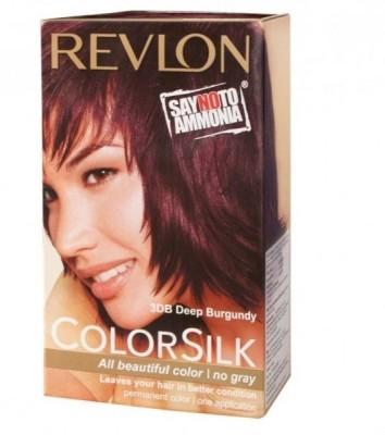 Revlon Colorsilk Hair Color With 3D Color Technology 3Db (Deep Burgundy)
