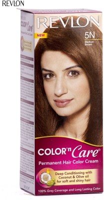 Revlon Color n Care Hair Color(Medium Brown)