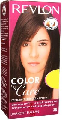 Revlon Color 'N Care Hair Color(Darkest Brown)  available at flipkart for Rs.200