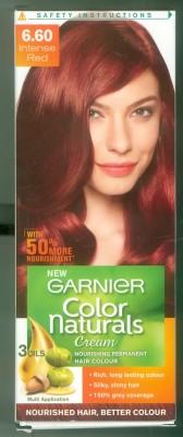 Garnier Color Naturals Hair Color - Shade 6.60 Intense Red, 70ml