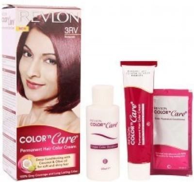Revlon Color 'N Care Hair Color(Burgundy 3RV)  available at flipkart for Rs.184