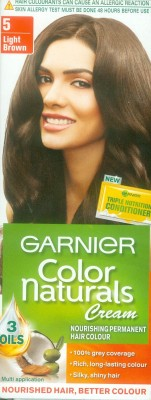 Garnier Color Naturals Hair Color -Shade 5 Light Brown, 70ml