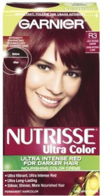 Garnier Nutrisse Haircolor Hair Color(R3 Light Intense Auburn)