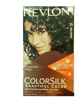 Revlon Colorsilk With 3D Technology Hair Color(Dark Brown 3N)