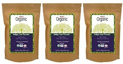 Radico Organic Indigo Leaf Powder(3 In 1) Hair Color(Natural Hair Color)  available at flipkart for Rs.750