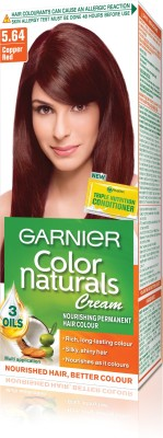 Garnier Color Naturals Hair Color - Shade 5.64 Copper Red, 70ml
