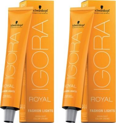 Schwarzkopf Igora Royal Cream Fashion Lights Pack of 2 Hair Color(Blonde Natural L-00)