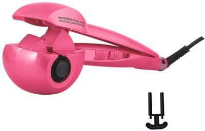 Gold Dust Perfect Curl Automatic Artifact Hair Curler(Pink, Black)