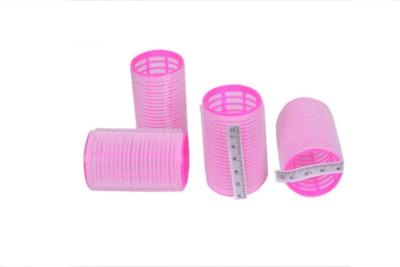 Styler Velcro Hair 3x6 Roller Hair Curler(Pink)  available at flipkart for Rs.147