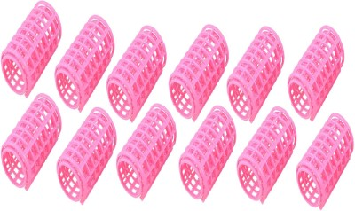 Out Of Box Small Self Holding Rollers Pack of 12 Hair Curler(Multicolor)