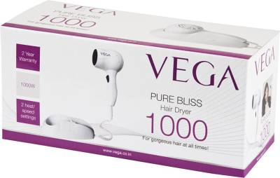 Vega Pure Bliss 1000 VHDH-07 Hair Dryer