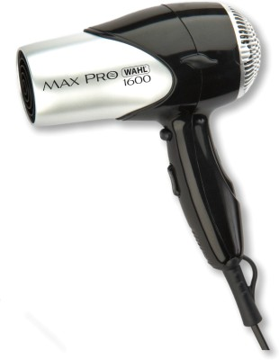 Wahl 5050-024 Max Pro 1600 W Compact Hair Dryer(Silver)