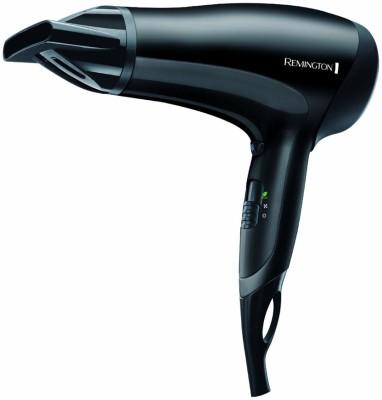 REMINGTON D3010 E51 Power Dry Hair Dryer(2000 W, Black)