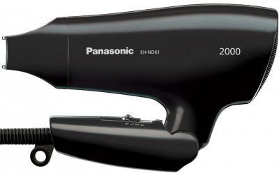 Panasonic Eh-Nd61-K Hair Dryer(2000 W, Black)