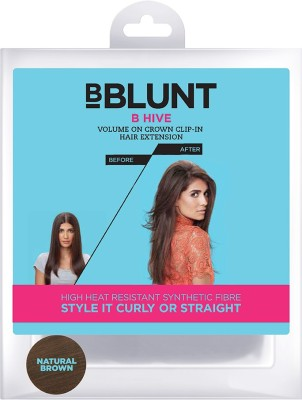BBlunt B Hive - Volume On Crown Clip - In Hair Extension