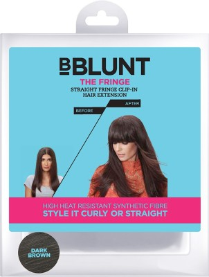 BBlunt The Fringe - Straight Fringe Clip - In Hair Extension