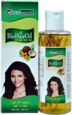 New Moon Jadi Buti Hair Fall Control Ayurvedic Brahmi Hair Oil(200 ml)